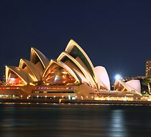 Music Of The Night - Moods of a City # 23 - The HDR Series, Sydney Australia by Philip Johnson