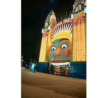 Just For Fun - Luna Park - Moods Of A City - The HDR Series Sydney Australia Photographic Print