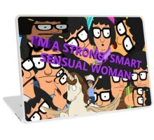 I'M A SMART, STRONG SENSUAL WOMAN Laptop Skin