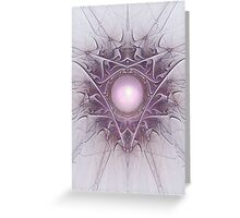 Pearly purple Greeting Card