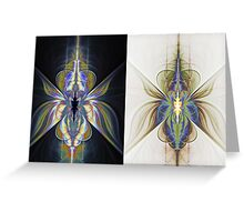 Night and day Greeting Card
