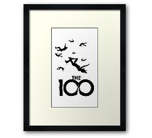 The 100 Framed Print