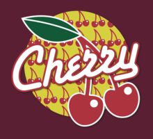 CHERRY with red cherries by jazzydevil