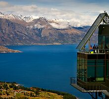 Above Queenstown by Hans Kawitzki