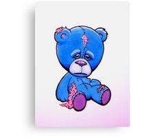 Sad Ted Canvas Print