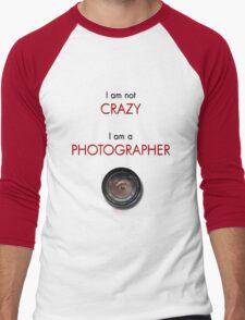 CRAZY PHOTOGRAPHER Men's Baseball ¾ T-Shirt