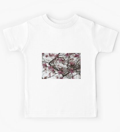 Cherry Blossoms in Central Park Kids Tee