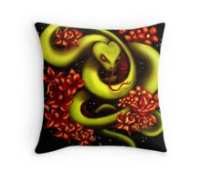 Star Slither Two Throw Pillow