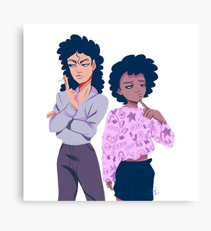 Cousins. Canvas Print