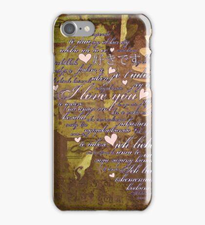 Love Language iPhone Case/Skin