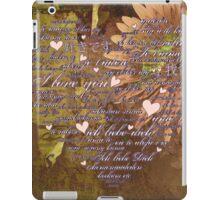 Love Language iPad Case/Skin