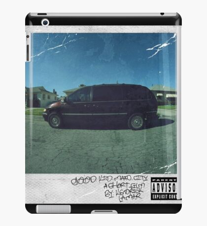 Kendrick Lamar - Good Kid, M.A.A.D City iPad Case/Skin