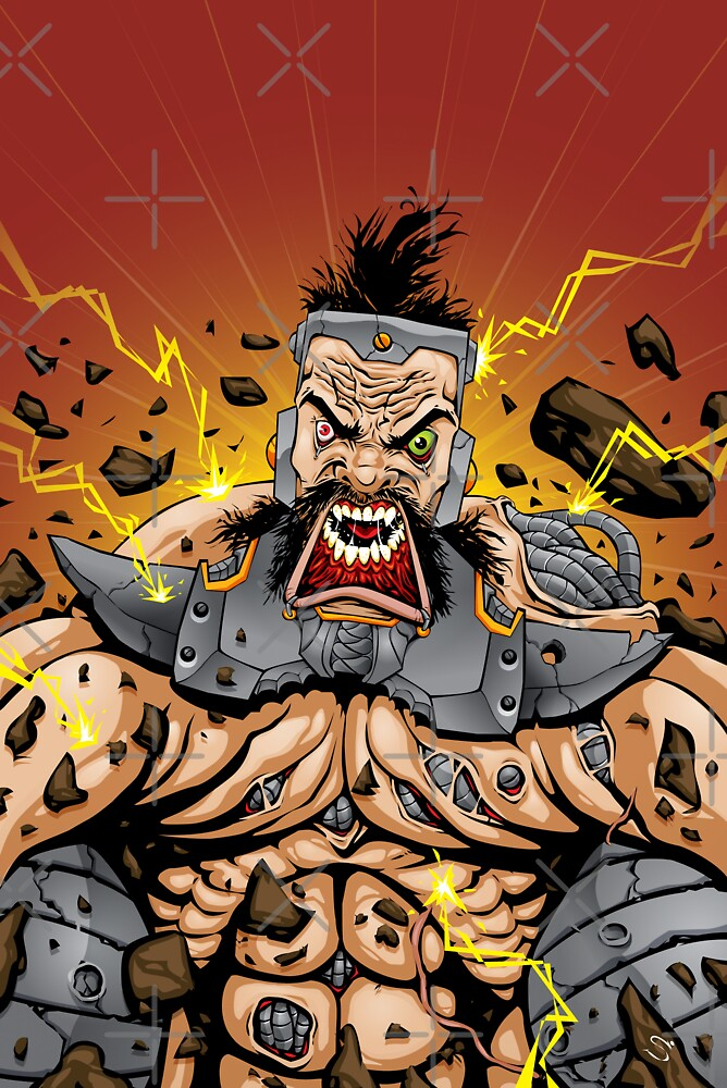 Rage of the UltraBogan! by Simon Sherry