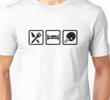 Eat Sleep Ping Pong Unisex T-Shirt