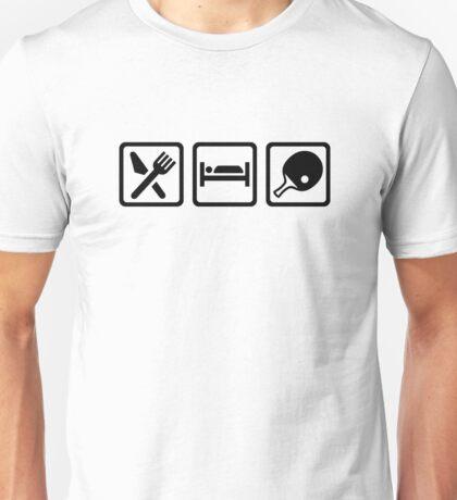 Eat Sleep Ping Pong Unisex T-Shirt