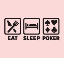 Eat Sleep Poker One Piece - Long Sleeve