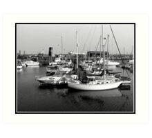 Ramsgate Harbour Art Print