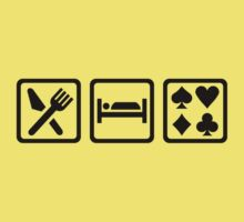 Eat Sleep Poker Kids Clothes
