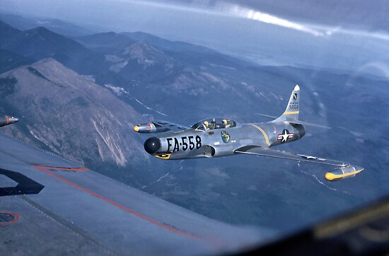 F-94A Starfire by Bryan Peterson