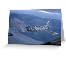 F-94A Starfire Greeting Card