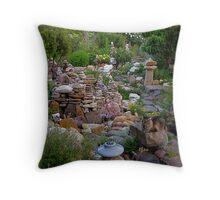 Kizhi in my Garden Throw Pillow