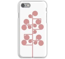 Hypnotic Tree *RED* iPhone Case/Skin