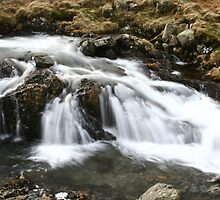 Small Waterfall by Chris Rollason