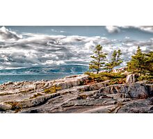 Schoodic Point Photographic Print