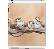 Double Bars on Wire iPad Case/Skin