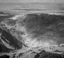 Bingham Canyon Open Pit Copper Mine by Brent Olson