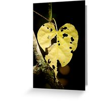 A Hole In My Heart Greeting Card