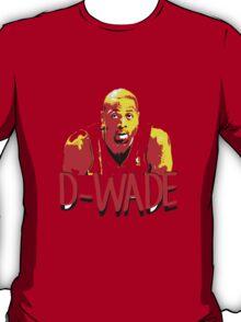 D-WADE Stencil Design T-Shirt