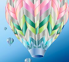 My Beautiful Baloon by Lazarita Betancourt