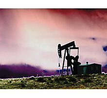 Oil Well Photographic Print