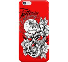 rats and snakes iPhone Case/Skin