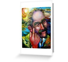 New Photograph:  Portrait of J. Rudyard Kipling,  1865 - 1936 Greeting Card