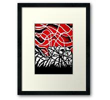 Engulfed in Vines Framed Print