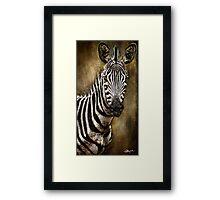 Uganda: Youngster's Identity?  Framed Print