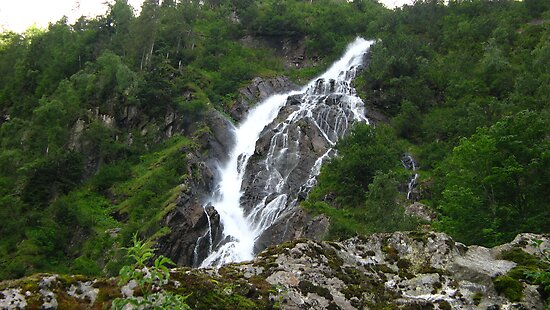 Bodensee Waterfall by Chris Rollason