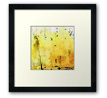 Yellow Abstract Art - Lemon Haze - By Sharon Cummings Framed Print