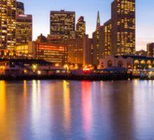 San Francisco Skyline Sticker