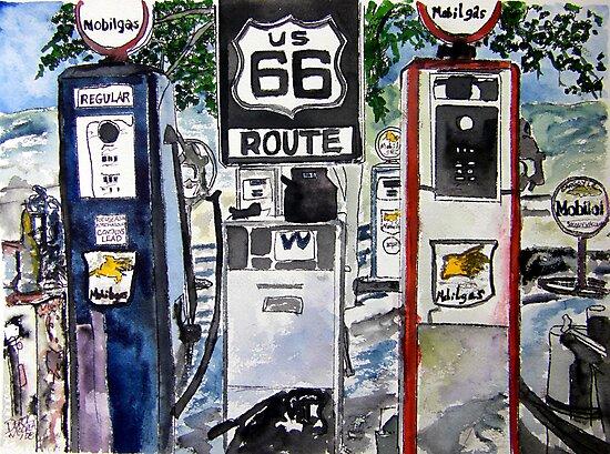 Route 66 by derekmccrea