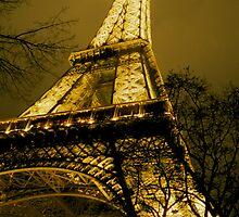 Eiffel Tower by Stephen Thomas Green