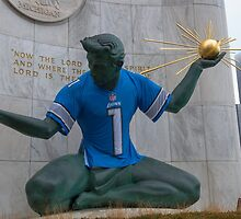 Spirit of Detroit: Let's Go Lions! by Bill Spengler