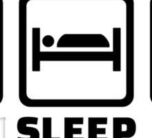 Eat Sleep Play Piano Sticker