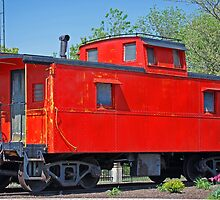 Little Red Caboose by Maria Dryfhout