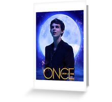 Peter Pan Once Upon a Time Greeting Card