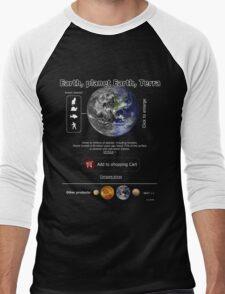 Earth for sale Men's Baseball ¾ T-Shirt