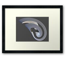 Mobius-tape Framed Print