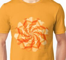 Orange and tangerine round pattern Unisex T-Shirt